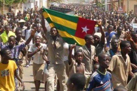 Manifestation Togo etudiant